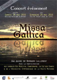 Concert Missa Gallica